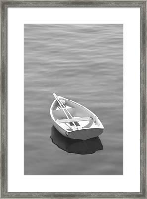 Row Boat Framed Print by Mike McGlothlen