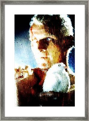 Roy Batty Framed Print by Andrea Barbieri