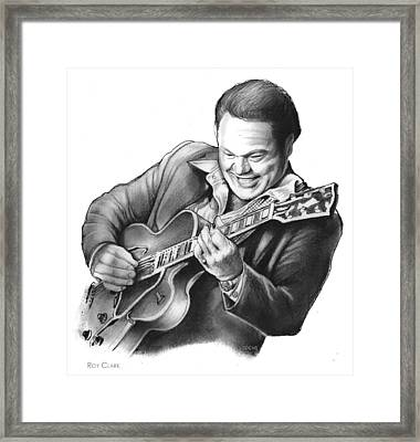 Roy Clark Framed Print by Greg Joens