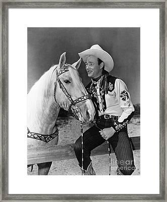 Roy Rogers Framed Print by Granger