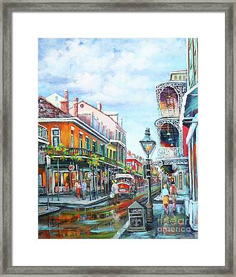 Royal Balconies Framed Print by Dianne Parks