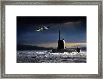 Royal Nights Framed Print by Peter Chilelli