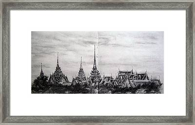 Royal Palace Framed Print by Ann Supan