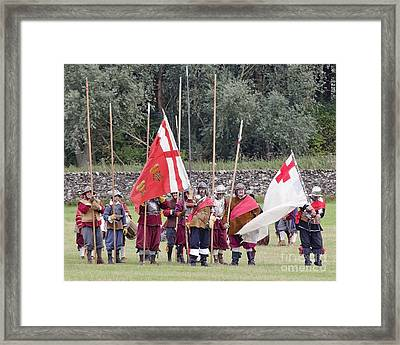 Royalist Pikemen Framed Print by Linsey Williams