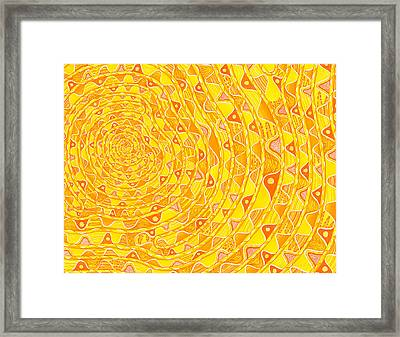 Royspin Framed Print by Dave Migliore