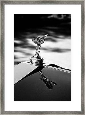 Rr At 8 O'clock Framed Print by Kurt Golgart