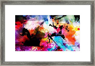Ruan Away Framed Print by Isabel Salvador