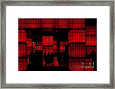 Rubik's Dream Framed Print by Andrew Paranavitana