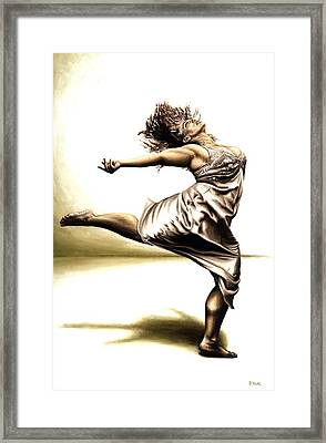 Rubinesque Dancer Framed Print by Richard Young