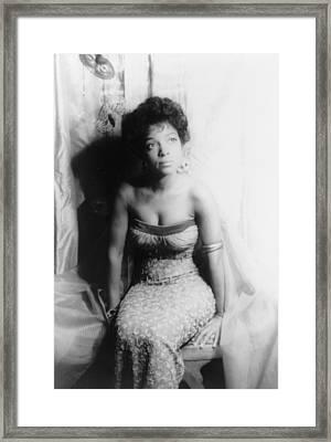 Ruby Dee, Portrait By Carl Van Vechten Framed Print by Everett