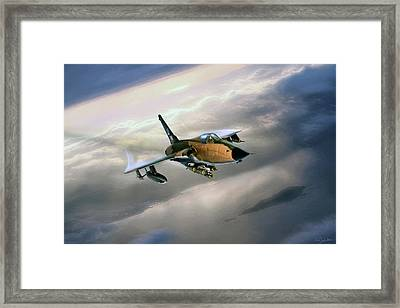 Rude Ram Framed Print by Peter Chilelli