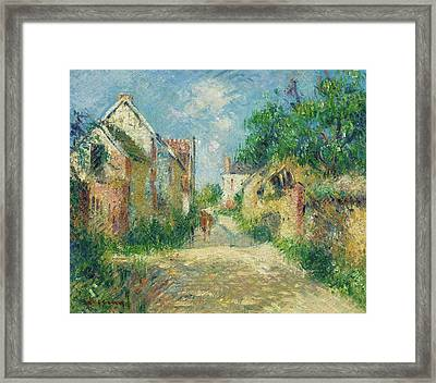 Rue A Incarville Framed Print by MotionAge Designs