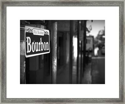 Rue Bourbon Framed Print by John Gusky