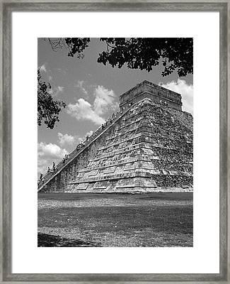Ruins At Chichen Itza 5 Framed Print by Frank Mari