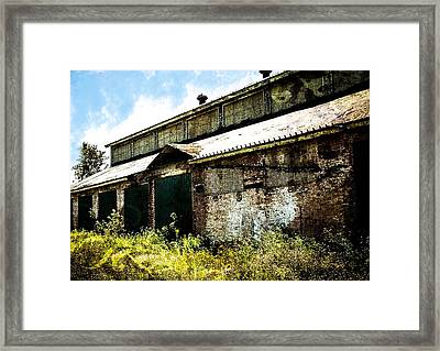 Run Down Building Framed Print by Kendall Tabor