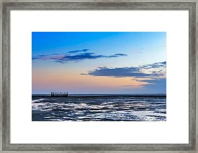 Framed Print featuring the photograph Running Out Of Time by Thierry Bouriat