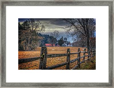 Rural America Framed Print by Everet Regal