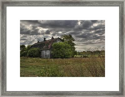 Rural Clayton Framed Print by Lori Deiter