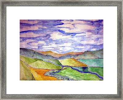 Rural Framed Print by Jame Hayes