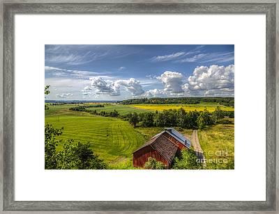 Rural Landscape Framed Print by Veikko Suikkanen