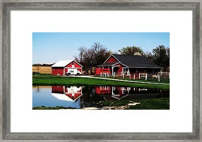 Rural Serenity Framed Print by Tina M Wenger