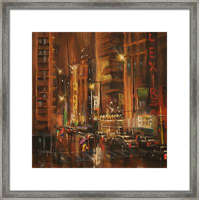 Rush Hour Framed Print by Tom Shropshire