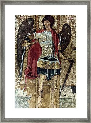 Russian Icons: Michael Framed Print by Granger