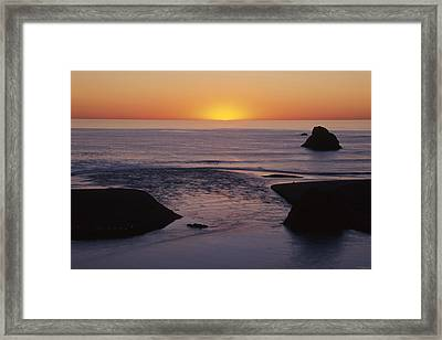 Russian River Framed Print by Soli Deo Gloria Wilderness And Wildlife Photography