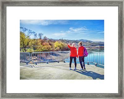 Russian Selfie Framed Print by Theresa Tahara