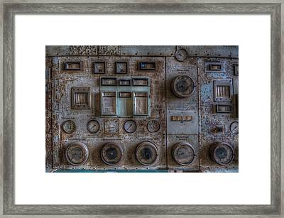 Rust Control  Framed Print by Nathan Wright