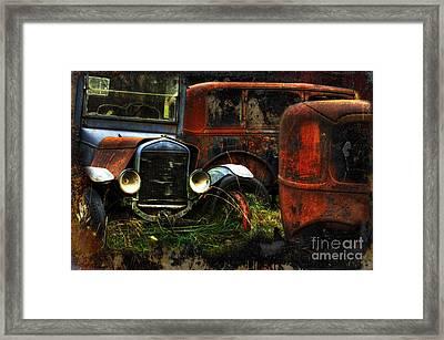 Rust Never Sleeps Framed Print by Bob Christopher