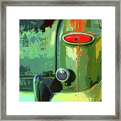 Rust Never Sleeps Framed Print by Dominic Piperata
