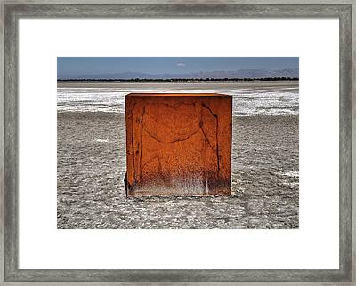 Rusted Framed Print by Daniel Edwards