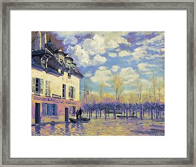 Rustic 15 Sisley Framed Print by David Bridburg