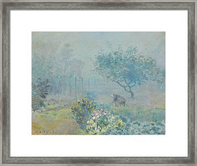 Rustic 17 Sisley Framed Print by David Bridburg