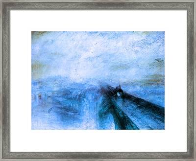 Rustic 4 Turner Framed Print by David Bridburg