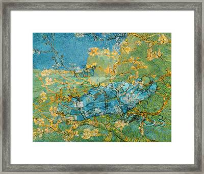 Rustic 6 Van Gogh Framed Print by David Bridburg