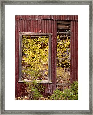 Rustic Autumn Framed Print by Leland D Howard