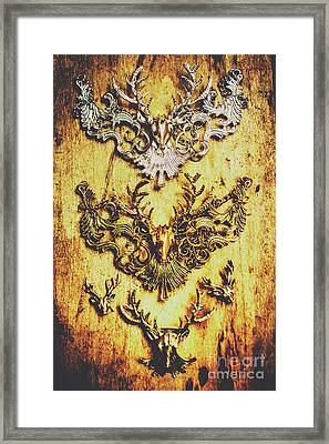 Rustic Country Style Jewels  Framed Print by Jorgo Photography - Wall Art Gallery