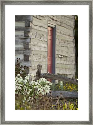 Rustic Home Framed Print by Andrea Kappler