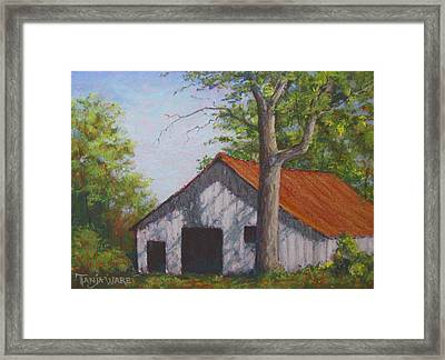 Rustic Framed Print by Tanja Ware