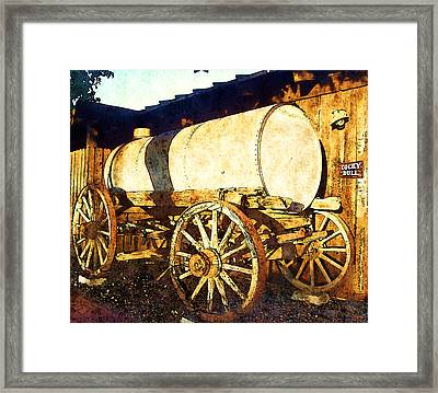 Rustic Warrior Framed Print by Glenn McCarthy Art and Photography