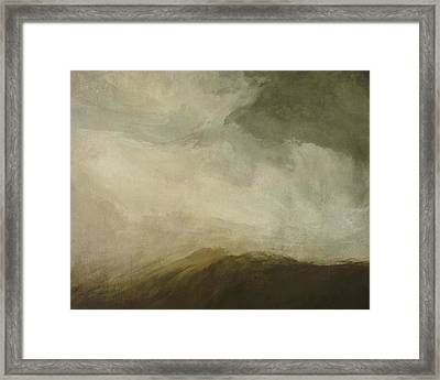 Rustic Wave Framed Print by LC Bailey