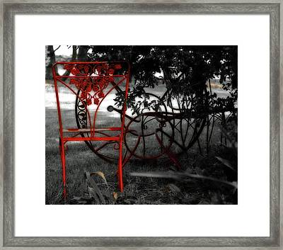 Rusty Framed Print by Molly McPherson
