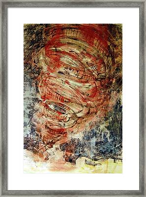 Rusty Tornado Framed Print by Jame Hayes