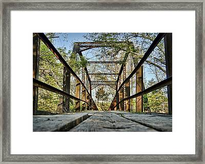 Englewood Bridge Framed Print by Cricket Hackmann