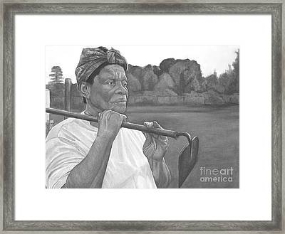 Ruthie II Framed Print by Curtis James