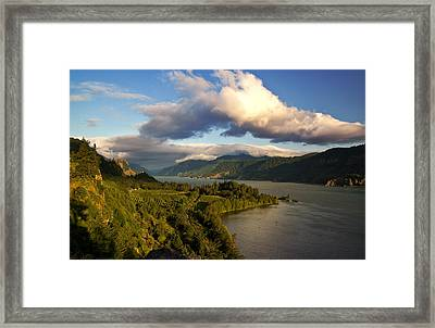Ruthton Point Morning Framed Print by Jon Ares
