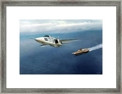 Rvah-1 Smokin Tigers Framed Print by Peter Chilelli