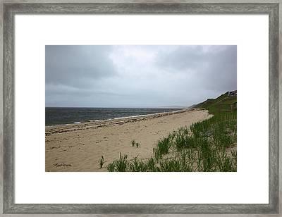 Ryder Beach Truro Cape Cod Massachusetts Framed Print by Michelle Wiarda